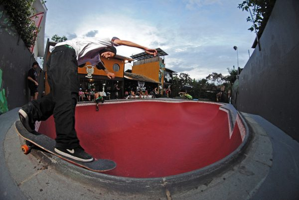 Rodrigo Gonzalez. Hi-Adventure Pool.