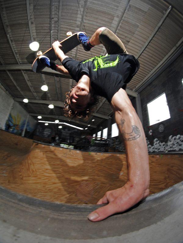 Jaime Mateu. Floripa skatepark.