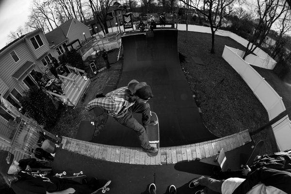 Pete. Lien to tailslide. Photo: A. Sergeant