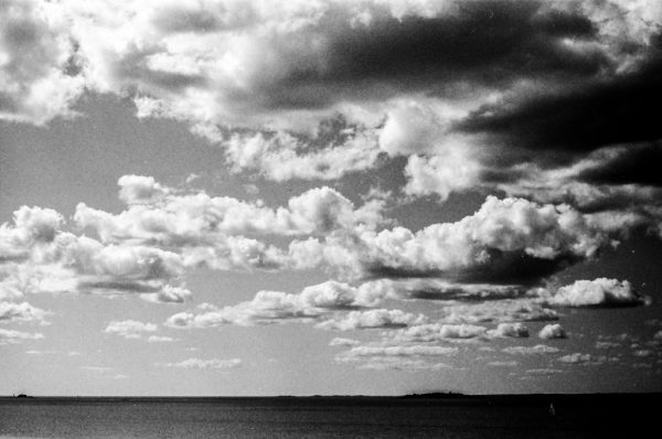 Some sky on the ferry to Estonia