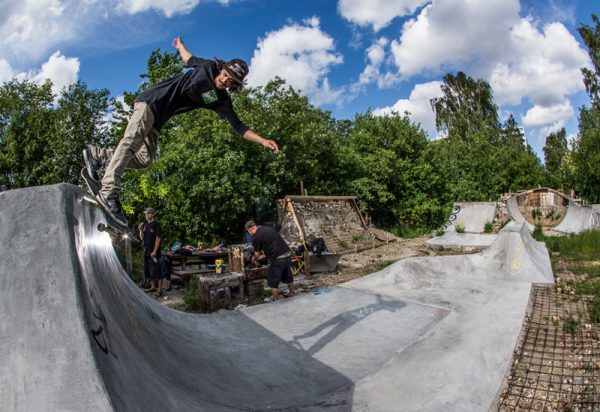 Diego Fiores. Backsmith at Hullet 2.0. Photo: Jovani Prochnov