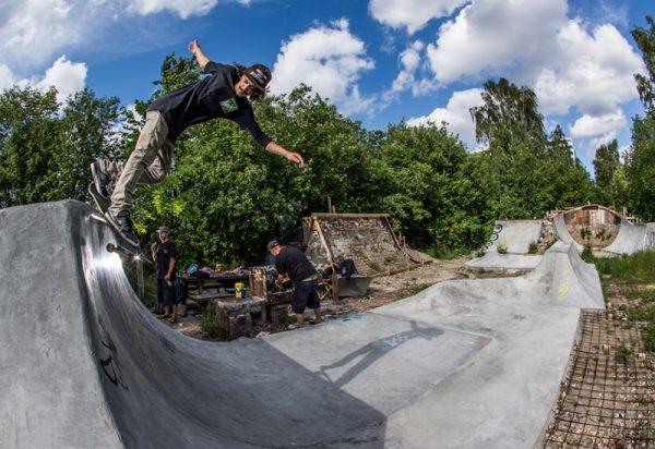 Diego Fiores. Backsmith at Hullet 2.0. Photo: Jovani Prochnov
