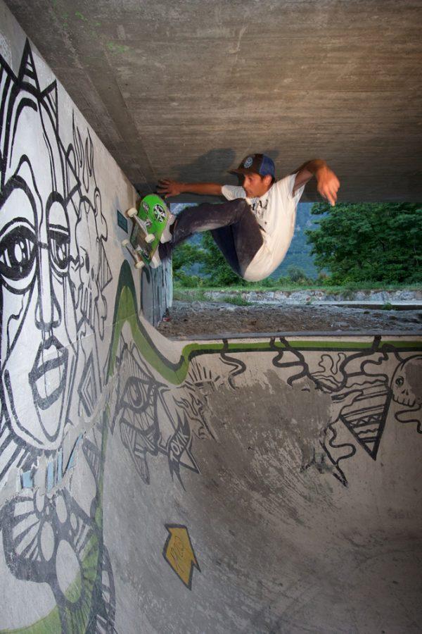 Jaime Ruiz. Edger wallride