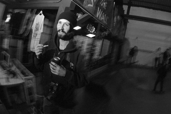 Sket celebrating the release of the Basque Caravan 2015 video he worked on for months!
