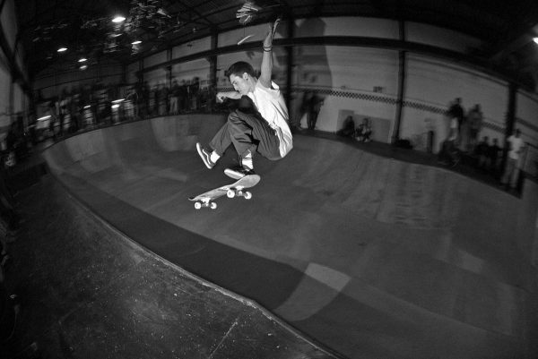 Ian Campbell one foot ollie.