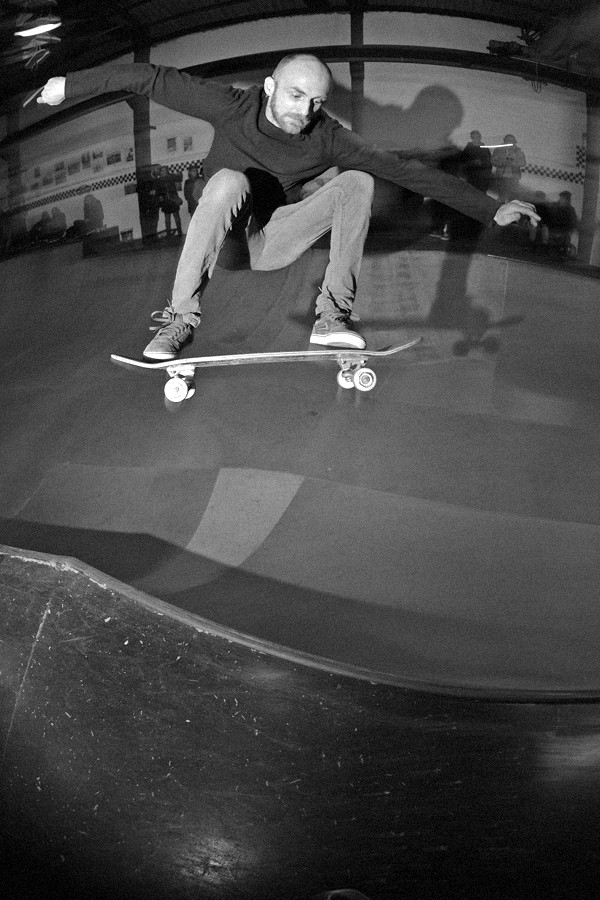 Jerson. Frontside ollie over the hip.