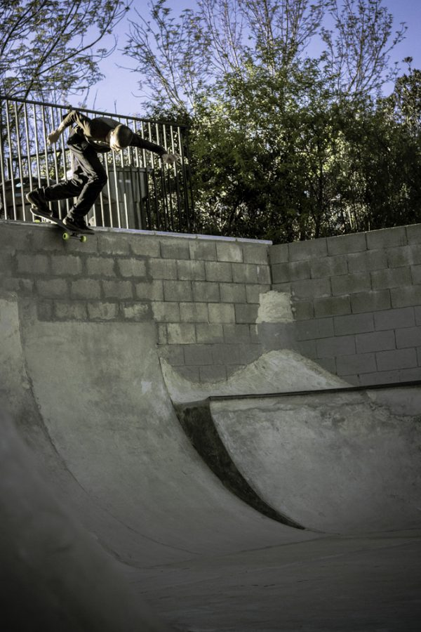Alex Vasquez. Backside disaster. Photo: Cosme Cortez