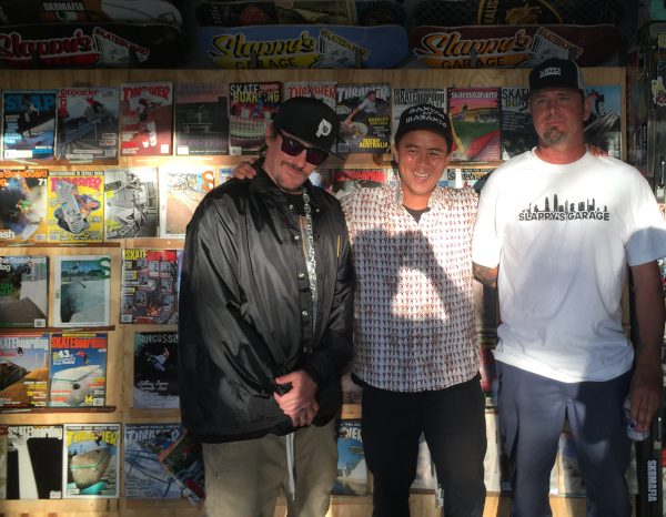 Slappys Garage in San Diego with Smolik, Willy Santos and Jason Carney