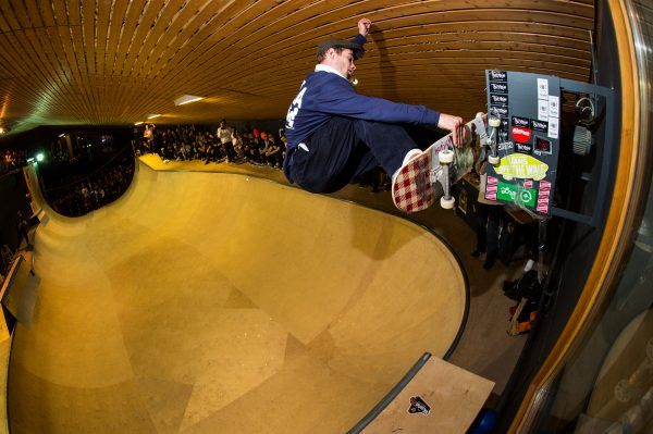 Alex Hallford Nosebash. Photo: Alan Maag
