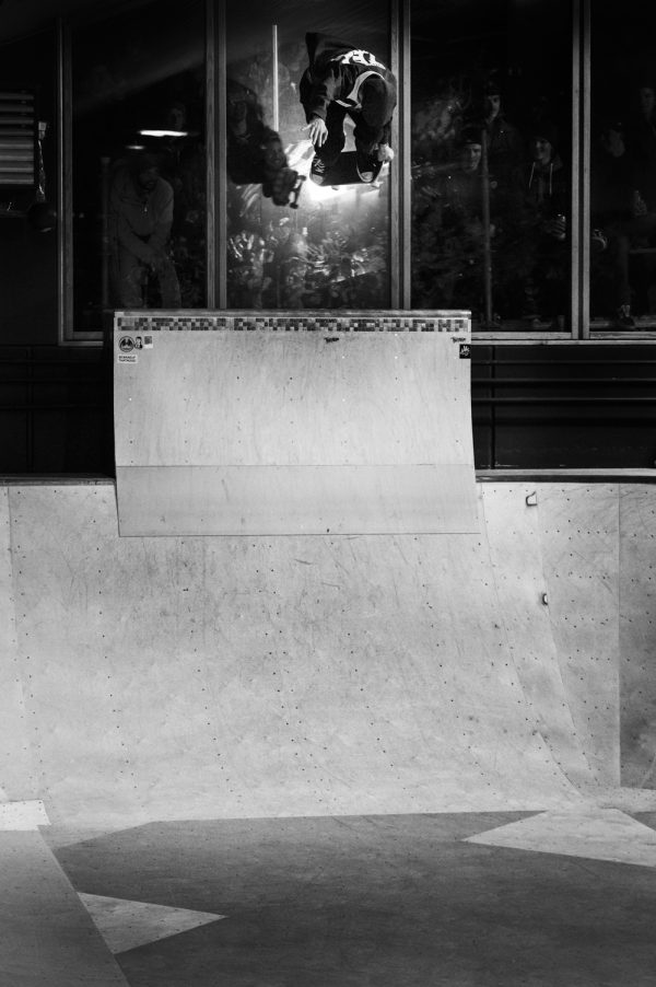 Alex Hallford. Backside air.  Photo: Alan Maag