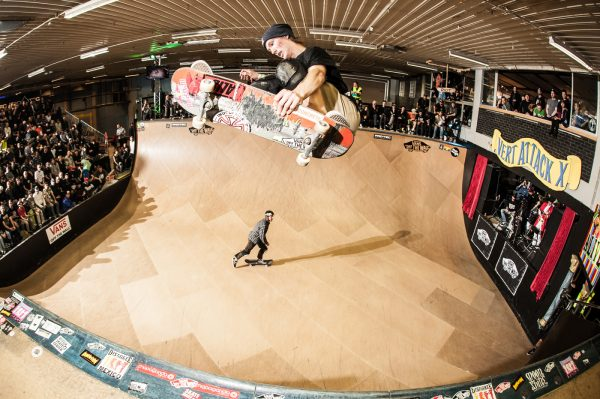Bjørn Lillesøe. Frontside air. Photo: Eddie Think
