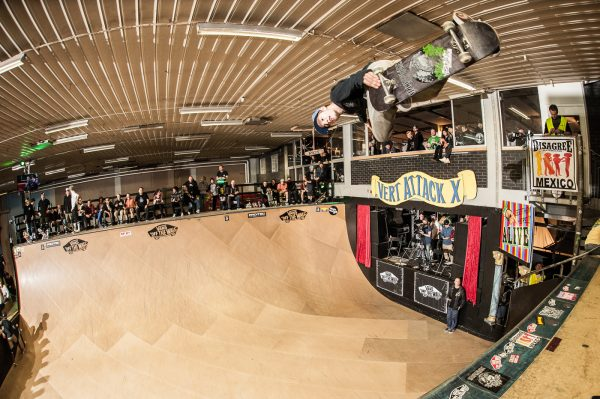 Clay Kreiner. Backside air. Photo: Eddie Think