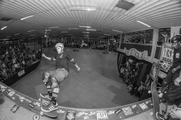 Mike Frazier. Fakie Feebel? Photo: Nicola Debernardi