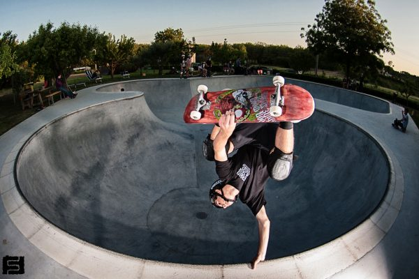Kollin Schanley. Backside invert.