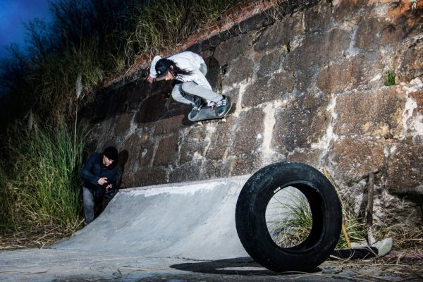 Marko. Backside melon wallride. Momia spot. Cantabria.