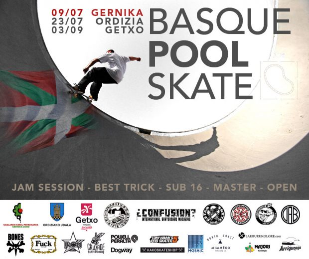 Basque pool skate.