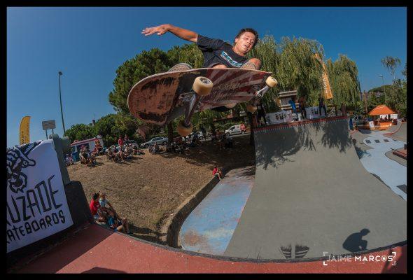 David Sanchez. Lien air. Photo: Jaime Marcos