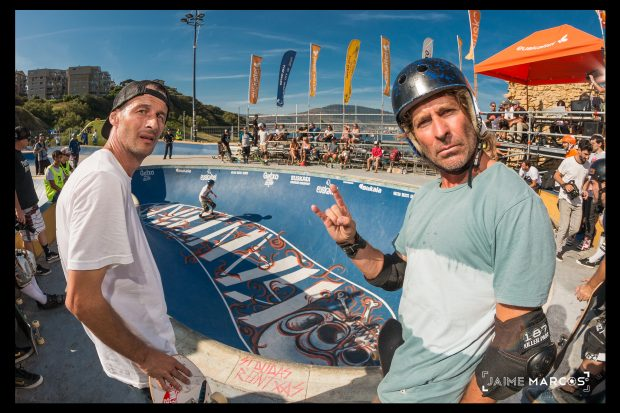 Kako and Txus. Local masters. Photo: Jaime Marcos