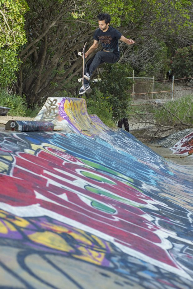 Gerardo. Bean plant to fakie.