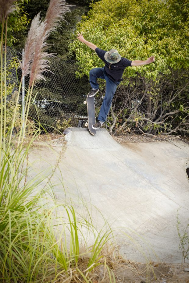 with more nicknames than anyone i've met , Kerry the bag added Kerry the blunt to the mix after this article was complete. Here's a sweet backside bleezy at the Turkey Ditch