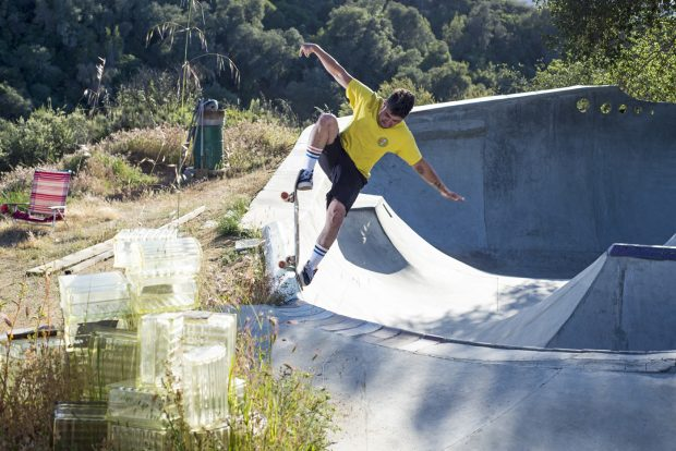 Blazing upstream and straight into the upper pocket, the Cachagua Land mastermind butchers the block with a prime nose blunt slide
