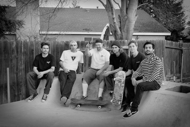 Bro, beers and buds - Gene's crew celebrates a killer session