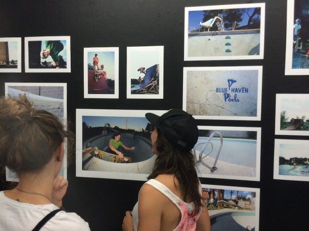 Checking out Pudi's skate photography.