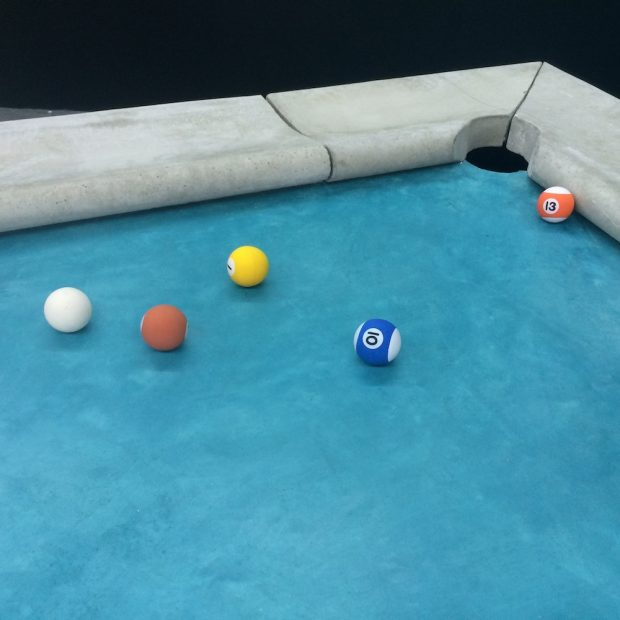 Pudi's Pool table