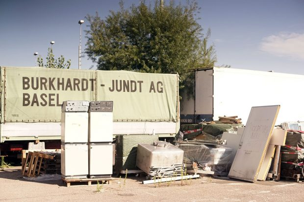 Port Land DIY is located in a very hip little junky retro new age spot along the Rhein river. Photo: Piper