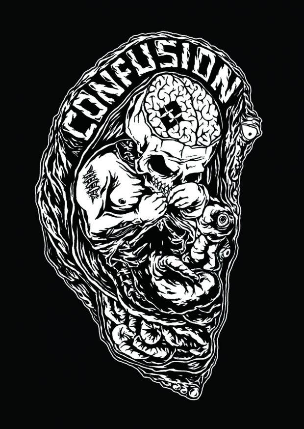 "Confusion ""Fetus"" graphic by Ferdz Valencia"