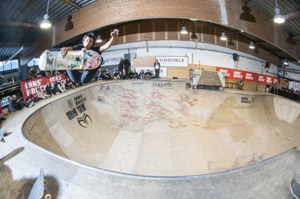 David Sanchez - Frontside air. Photo: Nicola Debernardi