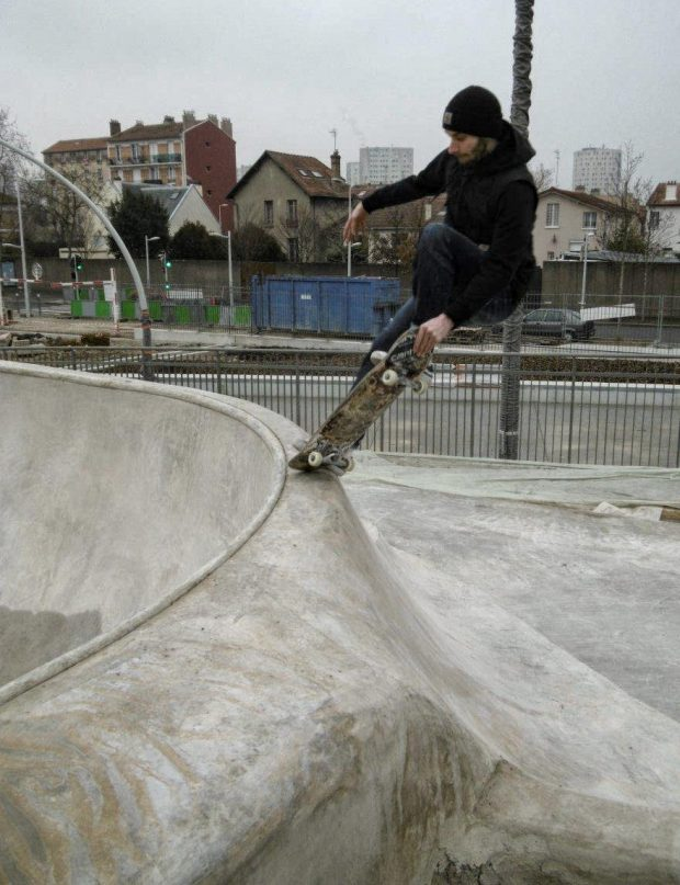 Paris local Igor Fradin from Lugano joined our little farewell session with a nice Fs Tailblock.