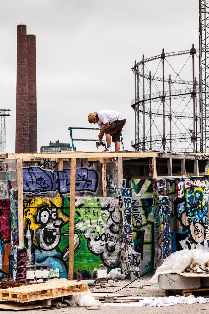 how to build a diy skate spot