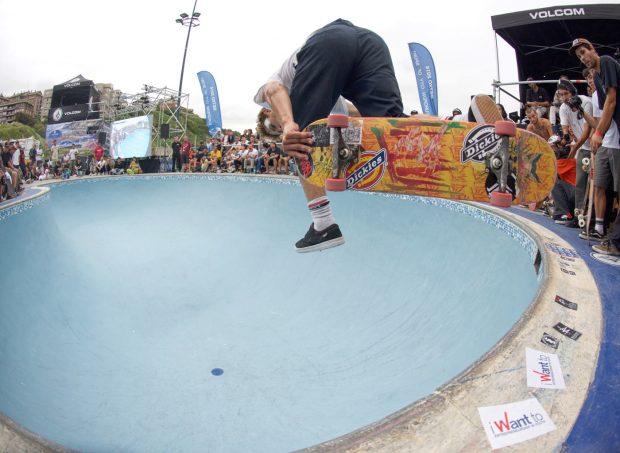Jaime Mateu. Backside 360 judo.