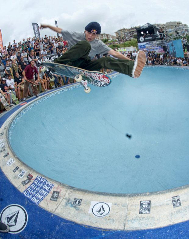 CJ Collins. One foot ollie for the win.