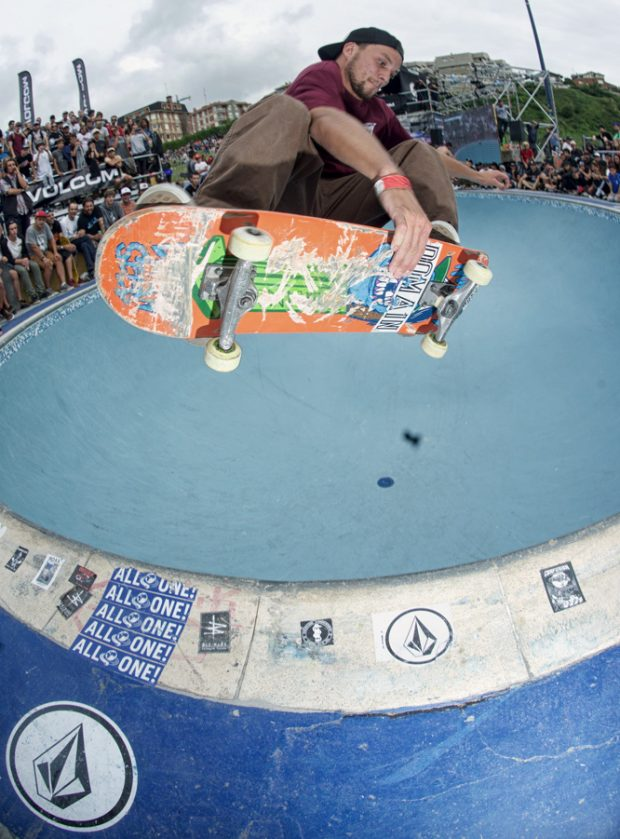 """Jake """"Poptart"""" Welch. Frontside air to disaster."""