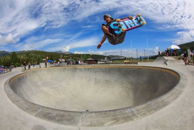Adam Mercado. Frontside air.