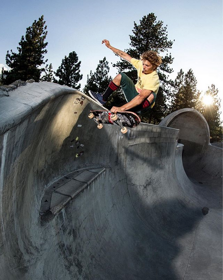 "Slob plant at mammoth. Photo: Justin ""Kennedy"" DeAndrade"