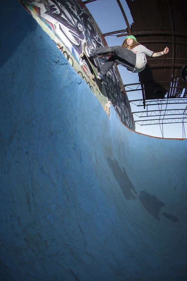 Gavin Rosenberg. Wall bash. Photo: Zolidelphia