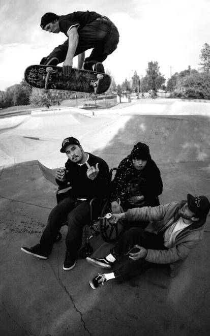 Austin Fiegi. Melon over the homies. Photo: Chris Vandershaff