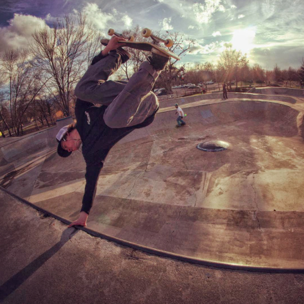 Invert to fakie. Photo: Frank Shaw