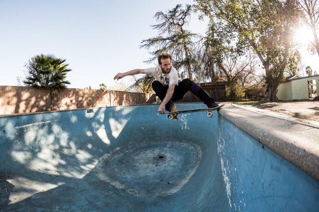Zach Cusano. Crail slide.