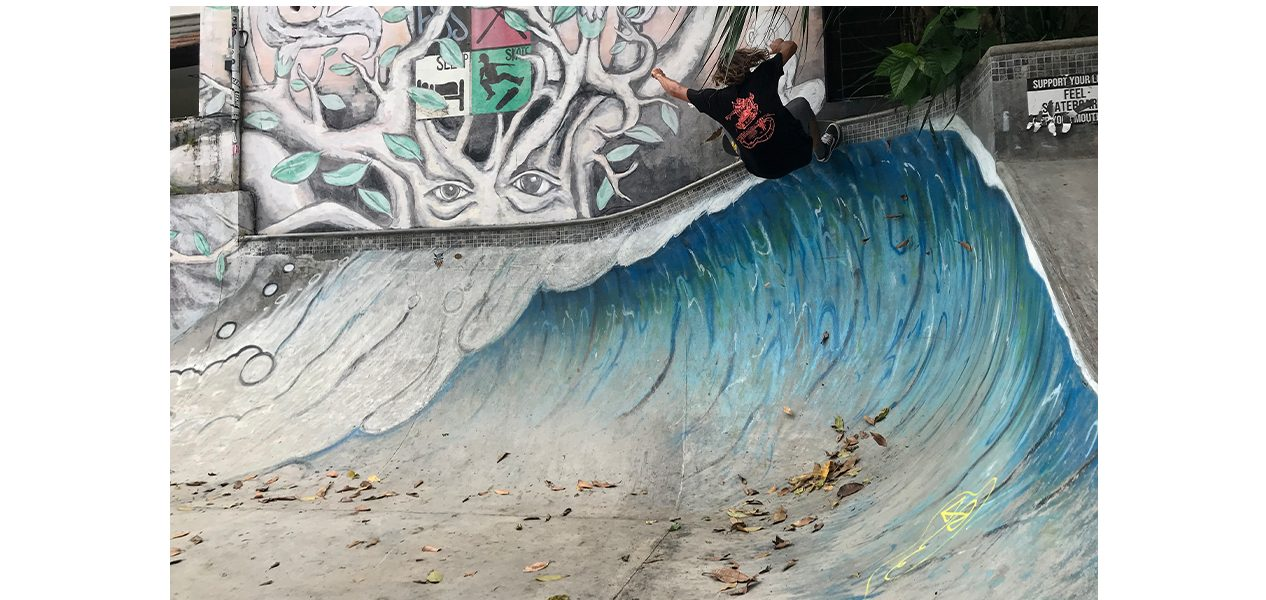 Alessandro Ferreri video part from below the equator