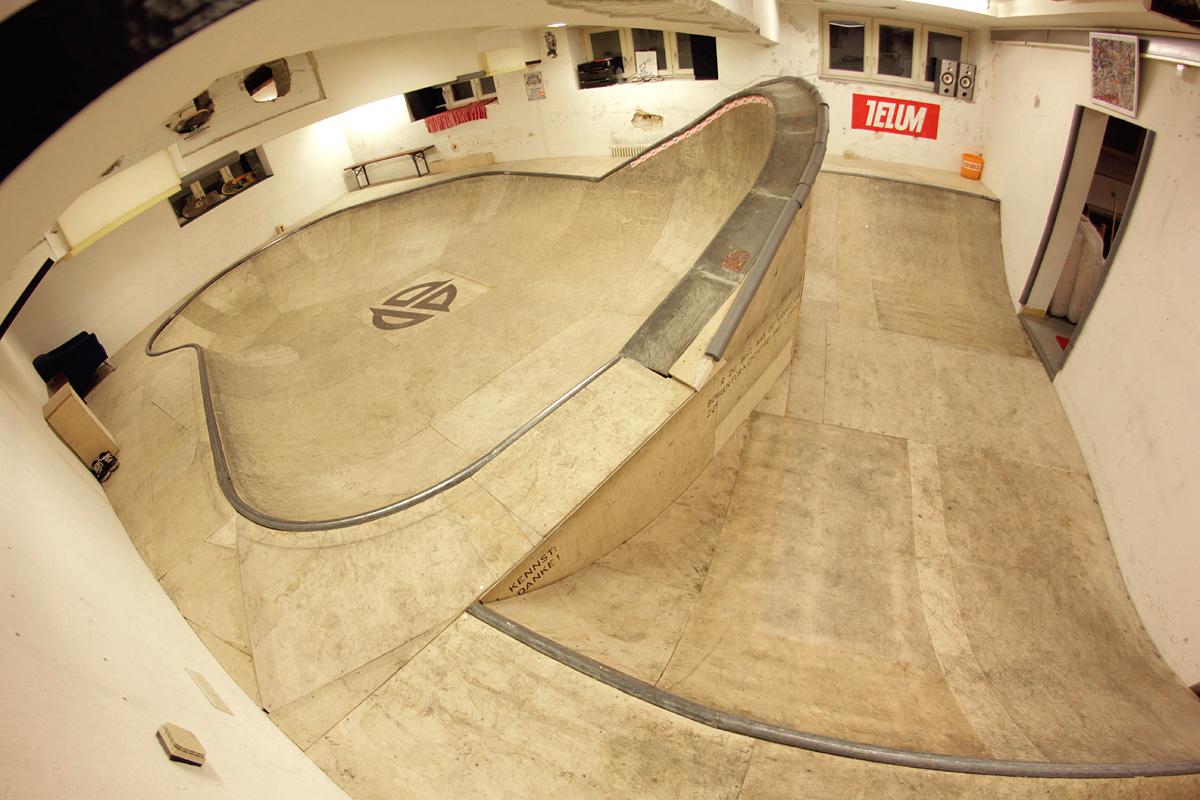 Skate Board Ramp >> Telum Basement Bowl and Miniramp - Stuttgart, Germany - Confusion Magazine: International ...